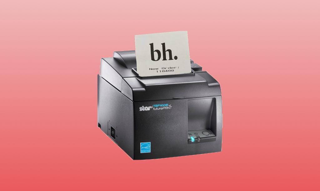 Bennet Receipt Printing
